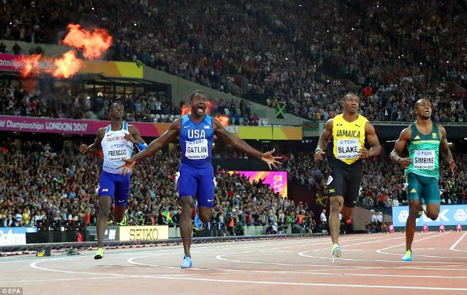 """Chấn động thế giới: Usain Bolt thua sốc, mất ngôi """"vua chạy 100m"""" - 1"""