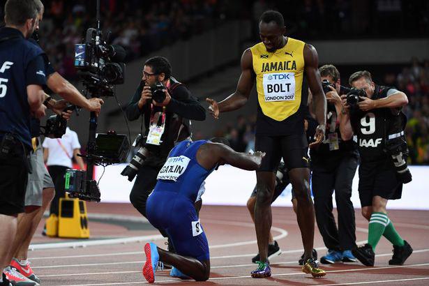 Usain Bolt mất ngôi vua 100m tâm phục, tán dương đối thủ Gatlin - 4