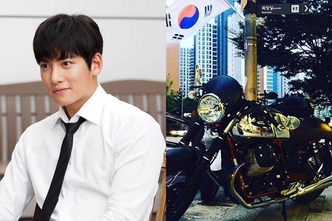 Thú chơi xe phân khối lớn của mỹ nam khiến chị em phát sốt Ji Chang Wook - 2