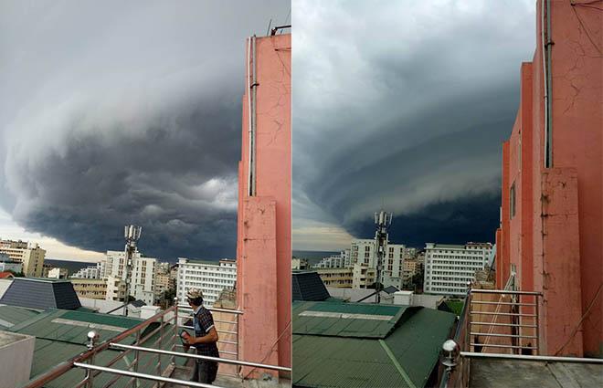 """Vụ mây kỳ quái tựa UFO ở Sầm Sơn: """"Ảnh tôi chụp là thật 100%"""" - 3"""