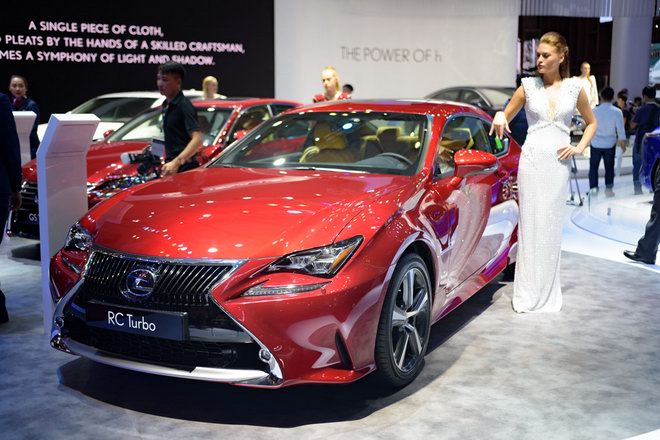 Lexus RC Turbo giá 2,98 tỷ đồng tại VMS 2017 - 1