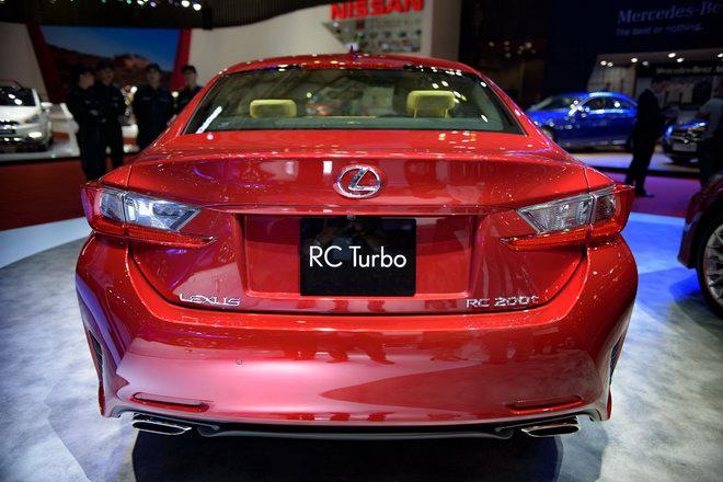 Lexus RC Turbo giá 2,98 tỷ đồng tại VMS 2017 - 3
