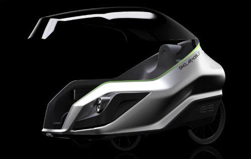 Môtô điện IRIS eTrike tiện lợi như ôtô con - 1