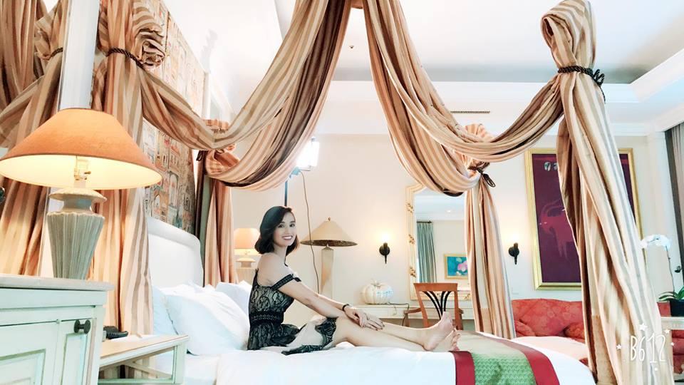 Lã Thanh Huyền khoe kỳ nghỉ siêu sang trong căn phòng tổng thống - 1