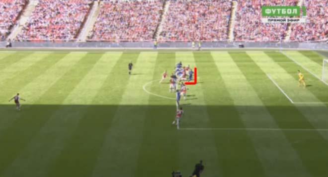 Góc chiến thuật Arsenal – Chelsea: Cái may cùi chỏ & tội đồ Morata - 2