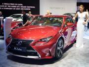 Tư vấn - Lexus RC Turbo giá 2,98 tỷ đồng tại VMS 2017