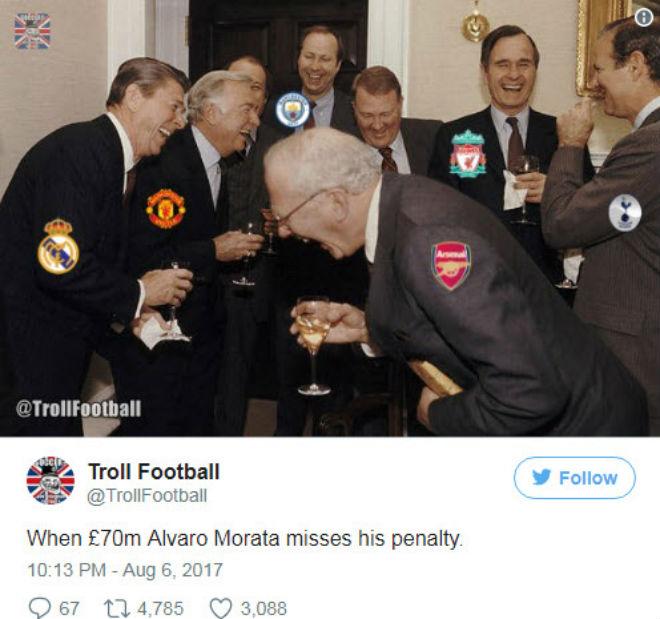 """Morata """"thảm họa"""": Triệu fan Chelsea cầu xin Costa trở lại - 2"""