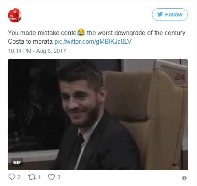 """Morata """"thảm họa"""": Triệu fan Chelsea cầu xin Costa trở lại - 6"""