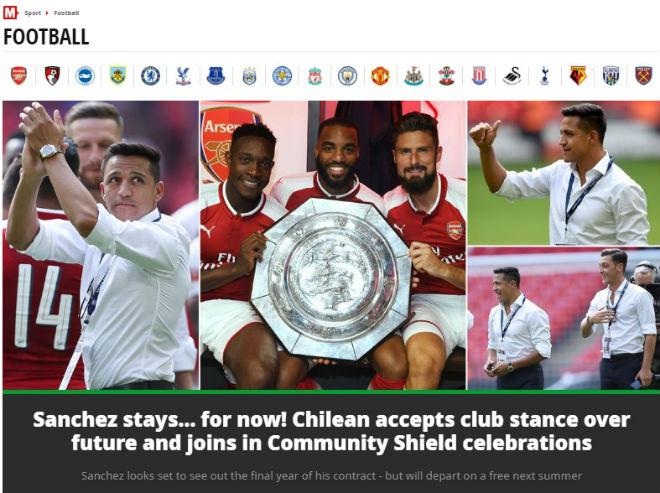 """Arsenal mừng """"ăn 3"""": Báo chí Anh ngợi ca """"Pháo thủ"""" đổ máu đoạt cúp - 2"""