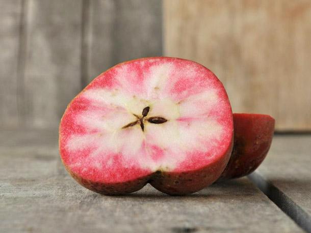 """Mê mẩn loại táo Mỹ lạ """"xanh vỏ - hồng lòng"""" siêu dễ thương - 2"""