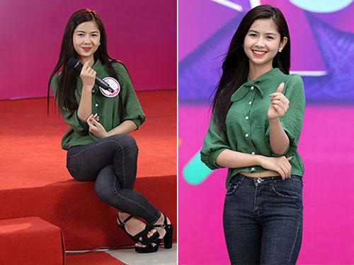 """Hot girl """"chân khoèo, mắt lác"""" gây bất ngờ ở cuộc thi Miss Teen - 1"""