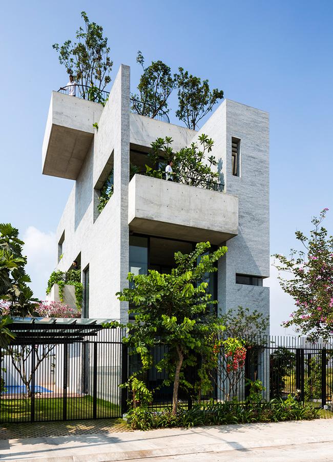 """Ngôi nhà này có tên là """"Bình House"""", tọa lạc tại quận 2, Thành phố Hồ Chí Minh."""