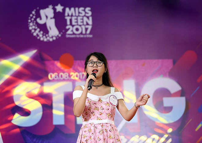 Nhan sắc xinh đẹp nổi bật của dàn thí sinh Miss Teen 2017 - 8