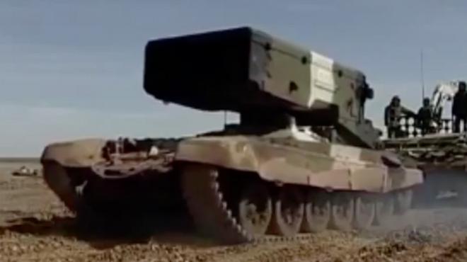 Nga phô diễn sức mạnh vô địch của tên lửa phóng loạt - 1