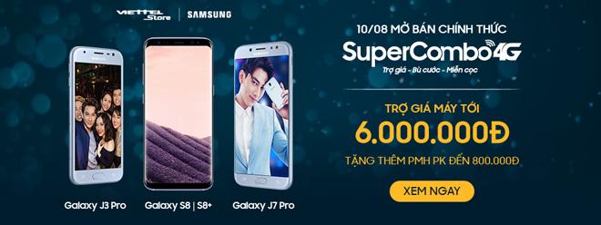 """Viettel - Samsung hợp tác triển khai chương trình """"Super Combo 4G"""" - 1"""
