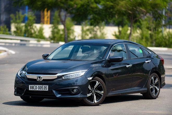 Honda Civic, CR-V, Accord ở Việt Nam giảm giá cả trăm triệu đồng - 1