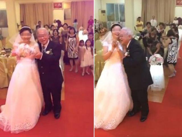 Xôn xao đám cưới cô dâu 20 và cụ ông U70 ở Hải Phòng