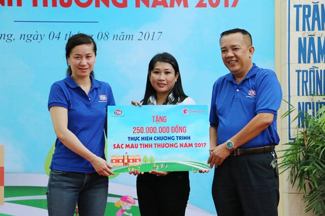 """Sơn TOA Việt Nam tiếp tục lan tỏa """"Sắc màu tình thương"""" - 4"""
