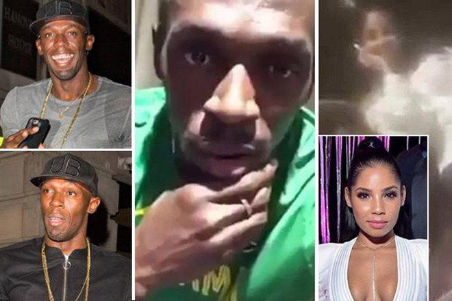 """Usain Bolt """"bay đêm"""": Bạn gái nóng bỏng """"nuông chiều"""", sức đâu mà chạy - 1"""