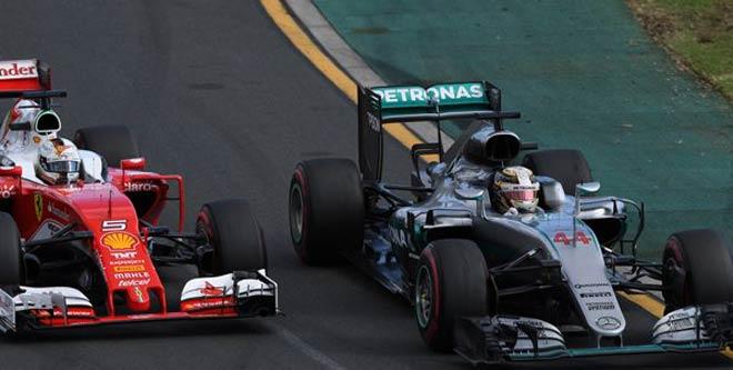 Đua xe F1, cuộc chiến Mercedes - Ferrari: Đổ thêm dầu vào lửa - 1