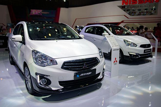 Mitsubishi làm mới Mirage và Attrage tại Việt Nam với bodykit - 1