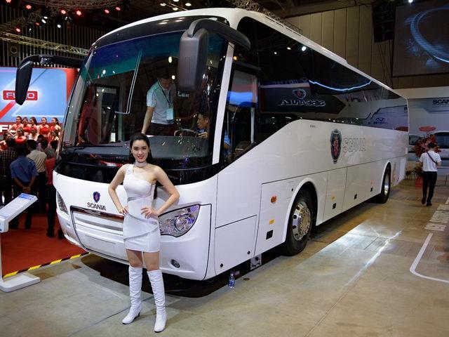 Scania A50: Xe khách hạng sang giá 5 tỷ đồng ở Việt Nam - 1