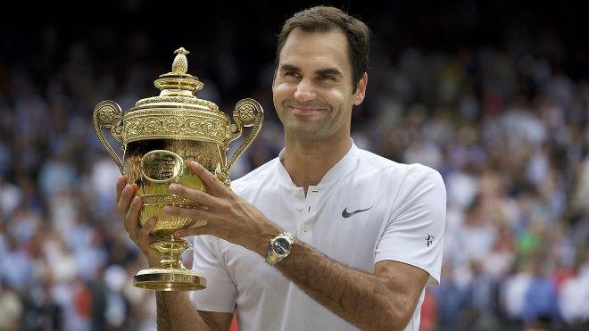 Roger Federer viên mãn tuổi 36: Ông hoàng toàn năng xô đổ thời gian - 1