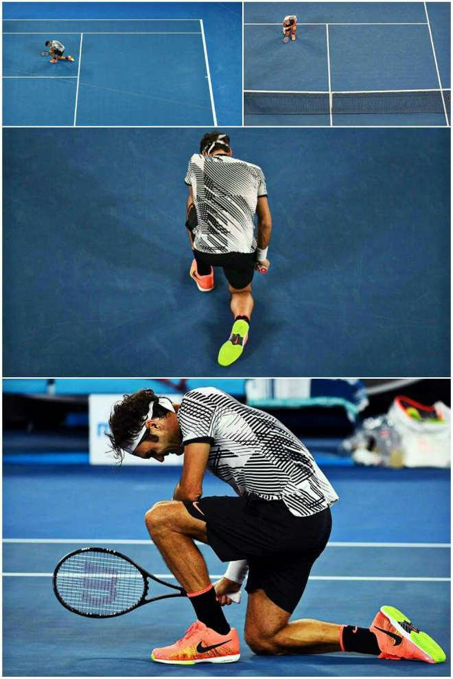 Roger Federer viên mãn tuổi 36: Ông hoàng toàn năng xô đổ thời gian - 2
