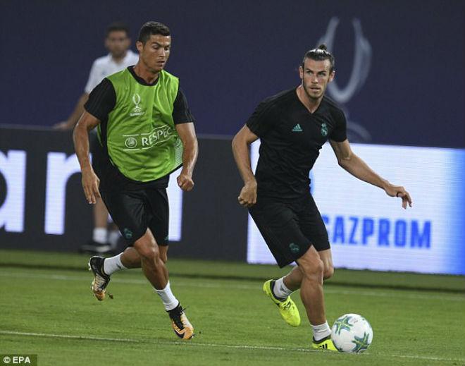 Siêu cúp châu Âu Real - MU: Ronaldo khoe 6 múi, tập sung chờ tái xuất - 7