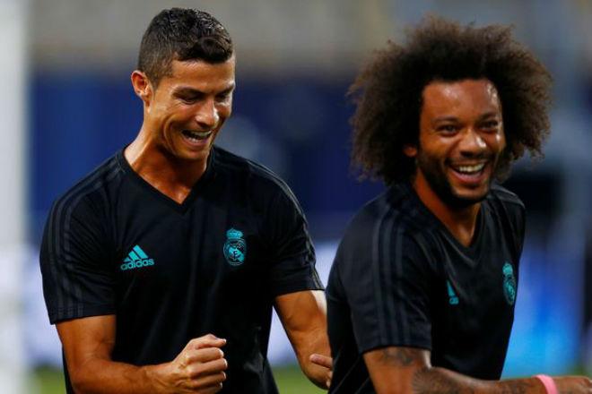 Siêu cúp châu Âu Real - MU: Ronaldo khoe 6 múi, tập sung chờ tái xuất - 3