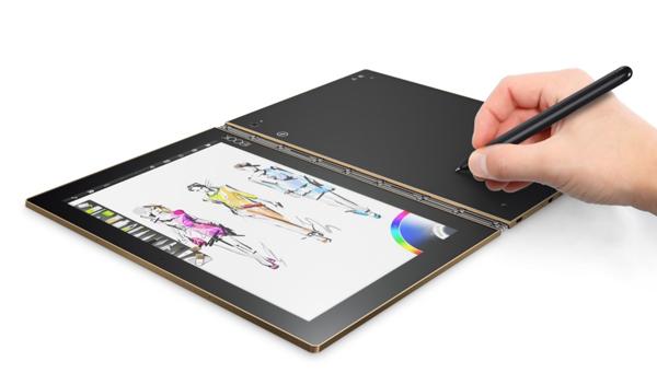 Nhận quà liền tay, lựa ngay Yoga Book màu Gold tuyệt đẹp - 1