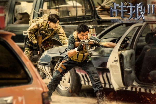 Chiến lang 2 của Ngô Kinh trở thành phim ăn khách nhất lịch sử TQ - 1
