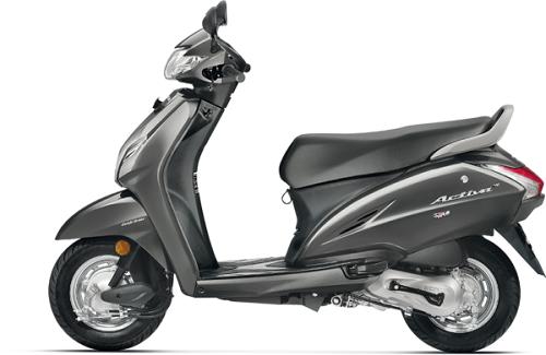 Honda Activa 4G màu xám mờ, giá chỉ 18 triệu đồng - 2