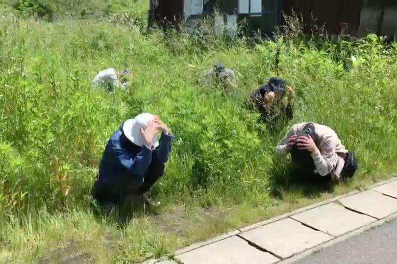 Sợ Triều Tiên, dân Nhật lần đầu tập sơ tán từ Thế chiến 2 - 4