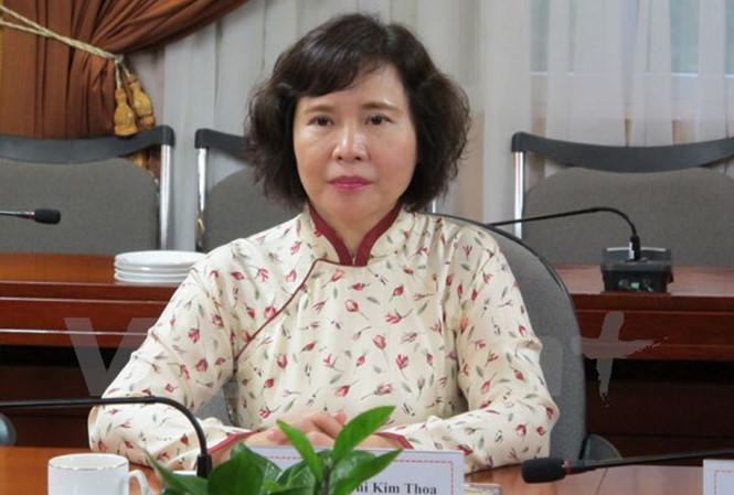 Ban Bí thư miễn nhiệm Thứ trưởng Hồ Thị Kim Thoa - 1