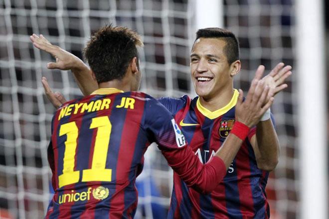 Mơ lật Messi & Ronaldo, Neymar đòi có Sanchez 80 triệu bảng phục vụ - 1