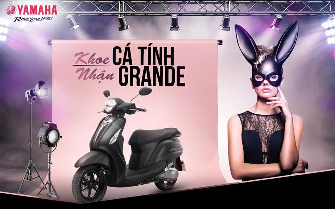 Cùng Ariana Grande rinh xe Yamaha Grande về nhà - 3