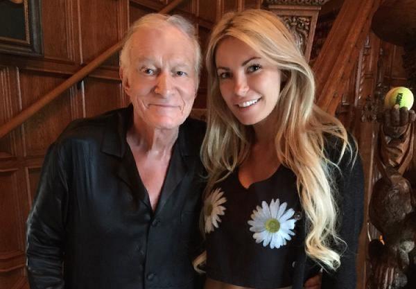 Bà chủ tạp chí Playboy có bầu khi chồng đã ngoài 90 tuổi - 2