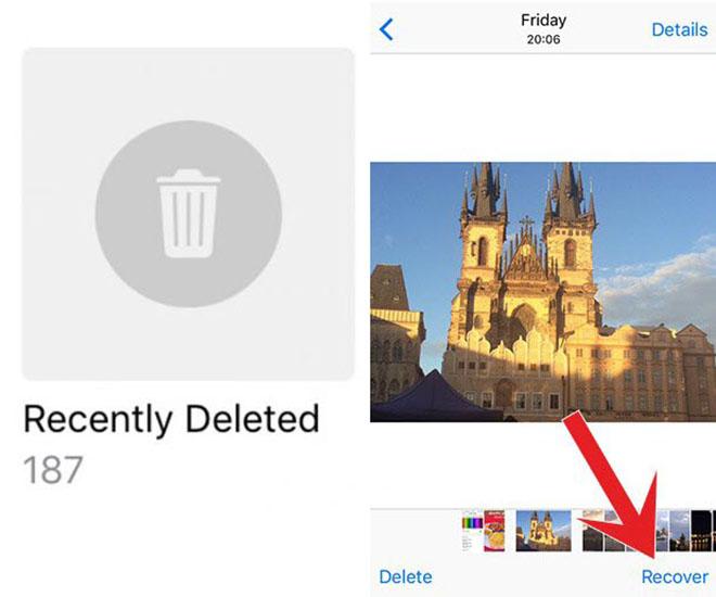 Phục hồi hình ảnh, video tưởng chừng đã mất trên iPhone - 1
