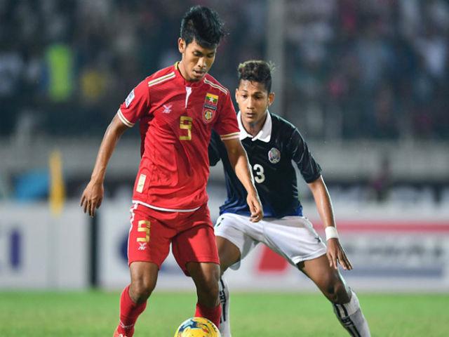 U22 Myanmar mang 'tiểu Ronaldo' dự SEA Games 29