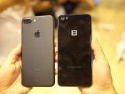 Ảnh: Bphone 2017 lép vế thế nào khi đứng cạnh iPhone 7 Plus?