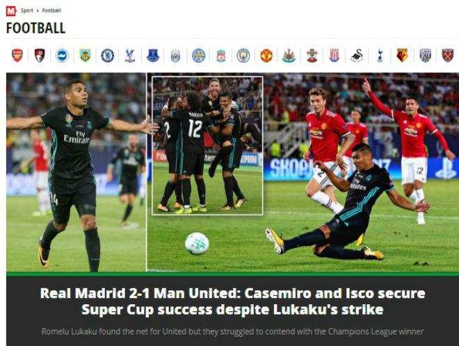 Báo chí thế giới: Real bất khả chiến bại, MU - Mourinho thua tâm phục - 6