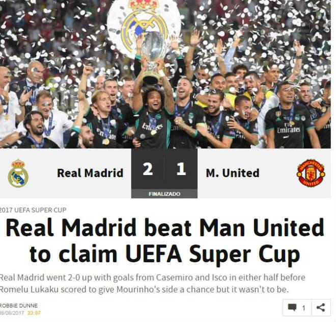 Báo chí thế giới: Real bất khả chiến bại, MU - Mourinho thua tâm phục - 4