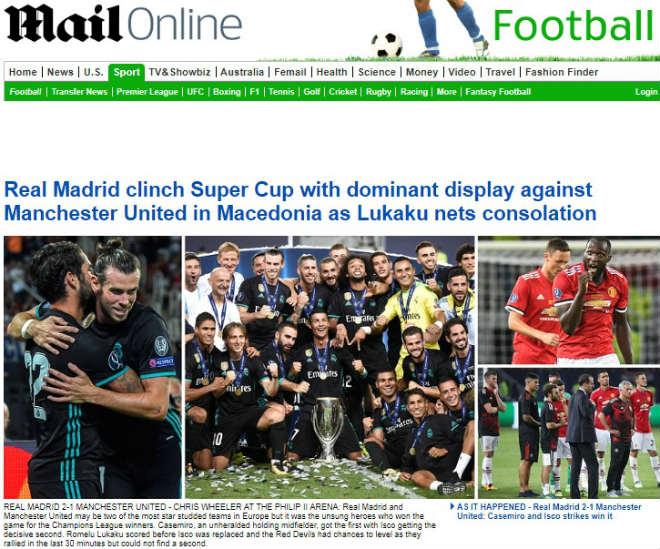 Báo chí thế giới: Real bất khả chiến bại, MU - Mourinho thua tâm phục - 7