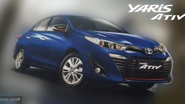 Toyota Yaris Ativ sắp ra mắt, rẻ hơn cả Vios - 1