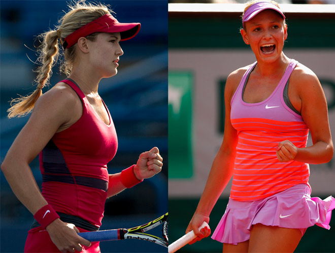 """Hoa khôi tennis Bouchard thua đau bồ Wawrinka: """"Vết xe đổ"""" Djokovic - 1"""