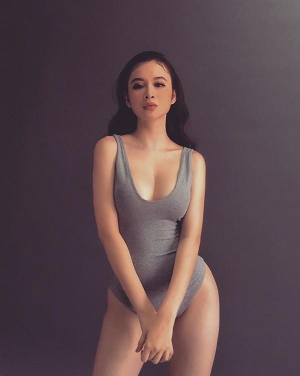"""Angela Phương Trinh nhiều lần lộ dáng phốp pháp khác xa ảnh """"ảo"""" - 3"""