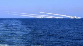 Trung Quốc bắn cấp tập tên lửa gần Triều Tiên