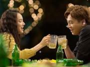 """Giải trí - Nhã Phương đòi uống rượu để lấy """"cảm xúc"""" khiến Ngô Kiến Huy phát hoảng"""