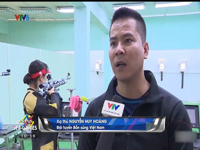 """SEA Games: """"Áo giáp"""" 8 kg và khát vọng Vàng của đội súng trường VN"""